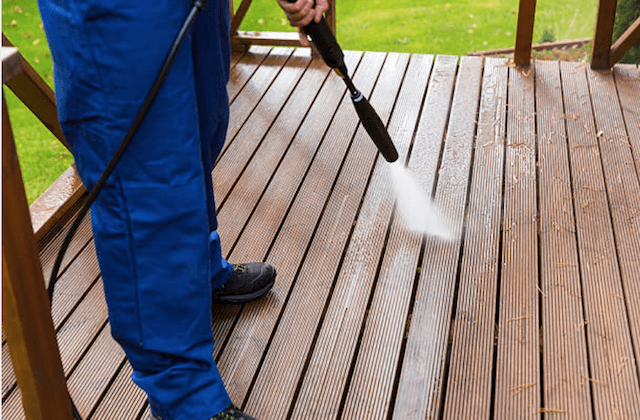 burbank deck cleaning